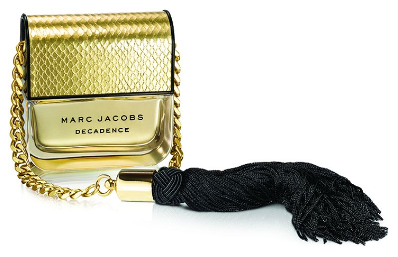 Marc Jacobs 不羈女郎2016聖誕18K金限量版100ml,NT4,400 (全台限量100 組) 。