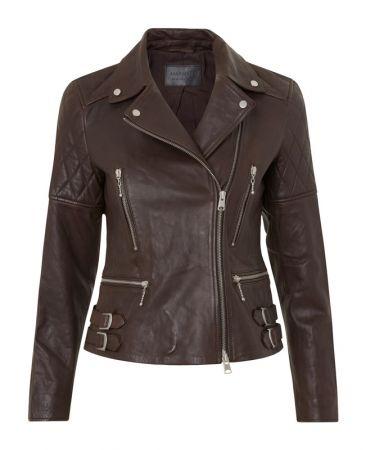 Armstead羊皮女騎士夾克 定價21,500