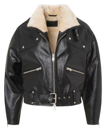 McGuire 翻羊毛領騎士夾克 定價35,900