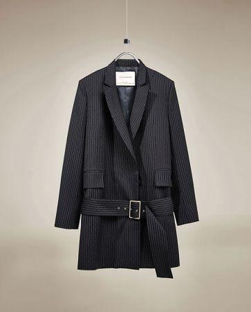 細條紋大衣NT6490