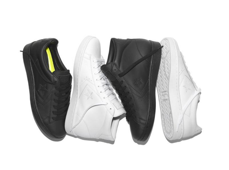 CONVERSE 打造 Pro Leather '76 黑白純色系列 經典球鞋