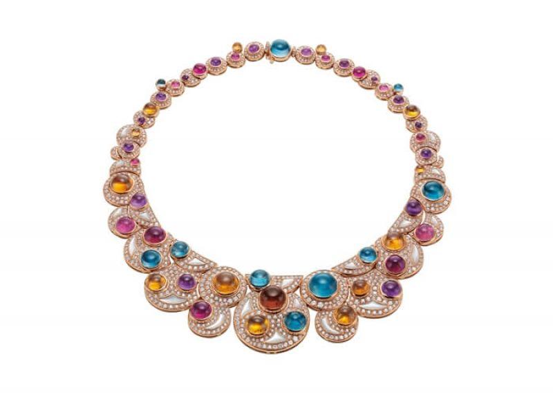 Bulgari 頂級珠寶彩寶項鍊