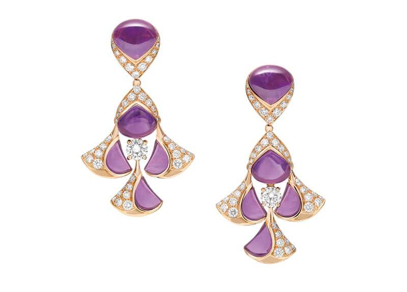 Bulgari 頂級珠寶彩寶耳環