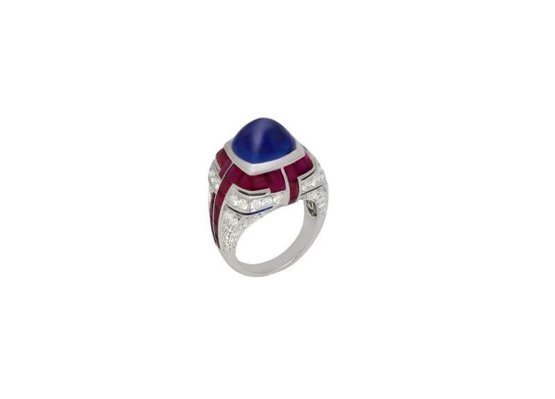 Bulgari 頂級珠寶彩寶戒指