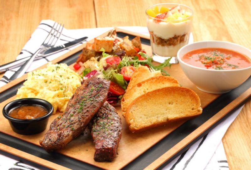 C.E.O.豪華早午餐 C.E.O. Steak & Egg 售價NT$799