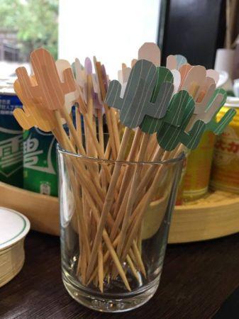 仙人掌造型餐叉