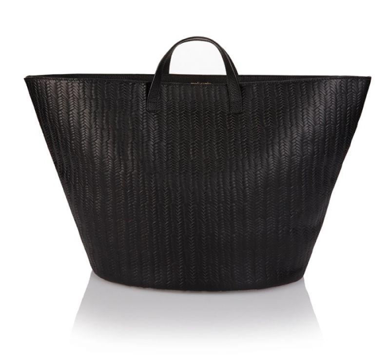 Rosalia Large 經典黑編織