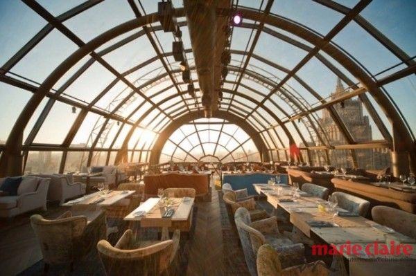 俄羅斯— White Rabbit Restaurant & Bar