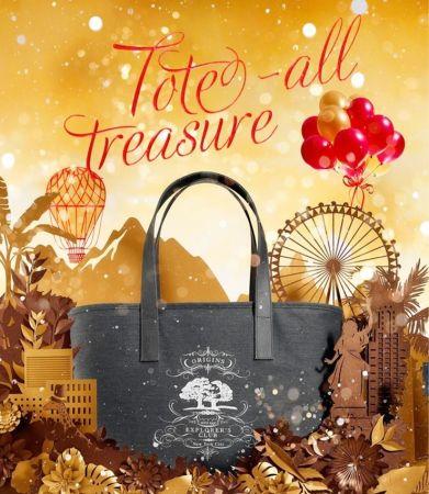 12月期間(非週年慶櫃點),購買正貨或聖誕節禮盒商品滿3,200元,贈送限量聖誕手提袋