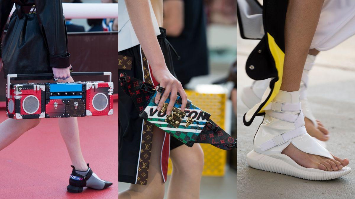 超生火!音響手提包、忍者夾腳鞋…最有創意的Louis Vuitton早春配件特輯