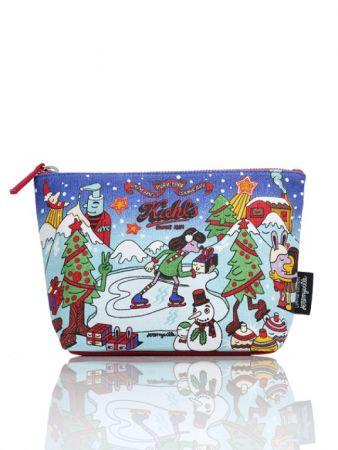 Kiehl's X Jeremyville 聖誕限量雪人化妝包