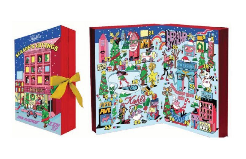 Kiehl's X Jeremyville 聖誕倒數月曆