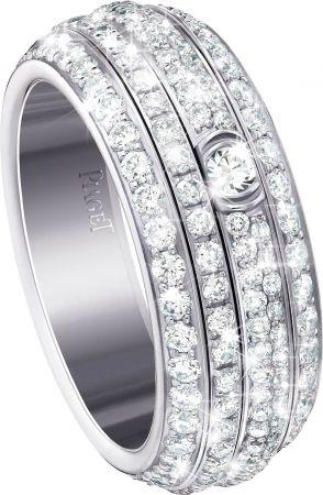 入圍者—最佳女主角,范冰冰的珠寶行頭Possession18K白金指環鑲嵌234顆圓形美鑽(約2.20克拉)台幣參考售價520,000起