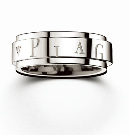 Possession18K白金指環鑲嵌2顆美鑽(約0.03克拉)台幣參考售價 91,000 元
