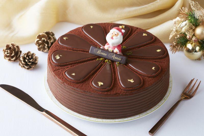 台北喜來登【漫雪聖誕】莫札特耶誕蛋糕