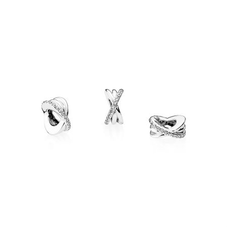 PANDORA 星環鋯石925銀串飾NT$1,380