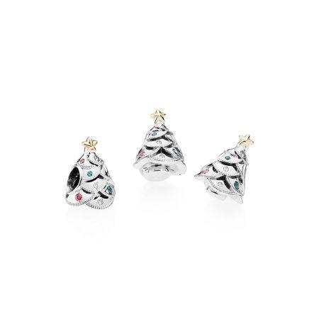 PANDORA 經典聖誕鋯石925銀串飾NT$3,180