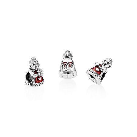 PANDORA 聖誕老婆婆925銀串飾NT$1,780
