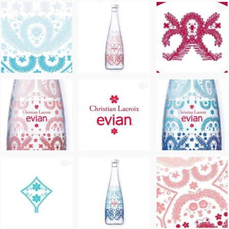 設計兩款瓶身,讓大家能全天候享受evian的陪伴,「日出」瓶身代表著藍色漸層的地平線,迎接早晨甦醒的每個人;「日落」粉紅漸層瓶身代表著日夜交融的特殊時刻,走入更歡樂的時光。