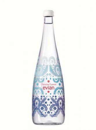 2017evian x Christian Lacroix藍色限量瓶