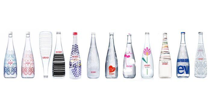 evian十年十款跨界聯名設計瓶