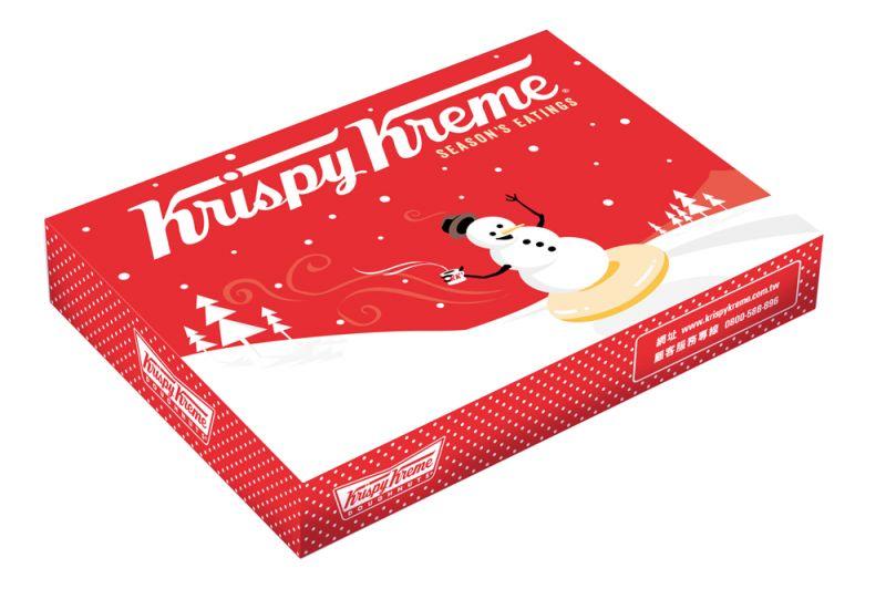 11/24-12/26▶12入聖誕限定禮盒(4款聖誕甜甜圈各一,其餘8款任選) 耶誕價 $390