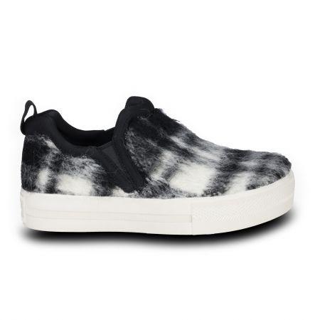 Jessi 毛呢格紋懶人鞋 NT. 7,980