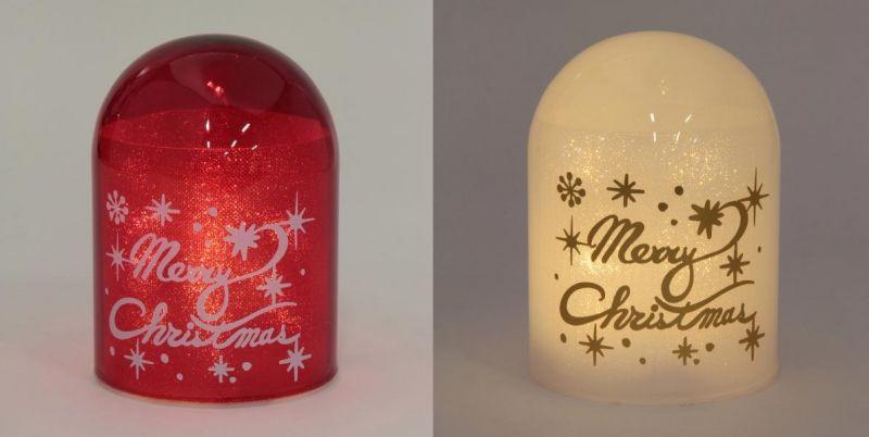 耶誕奇遇LED球型燈(紅色、白色),售價 520元