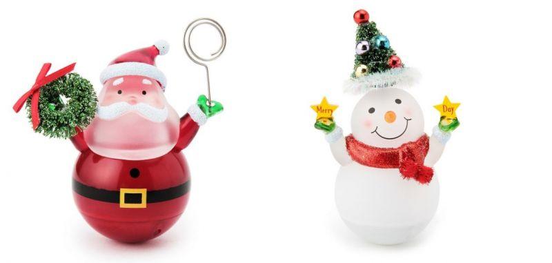 耶誕奇遇LED燈 圓滾滾聖誕老人、圓滾滾雪人 520元