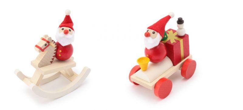 溫馨耶誕木質擺飾(木馬、火車),售價620元