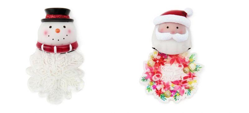 耶誕奇遇磁鐵LED燈(雪人、聖誕老人),售價390元