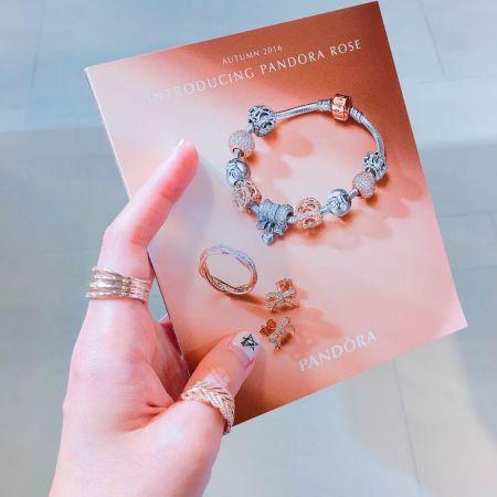 Rose 系列戒指,Pandora