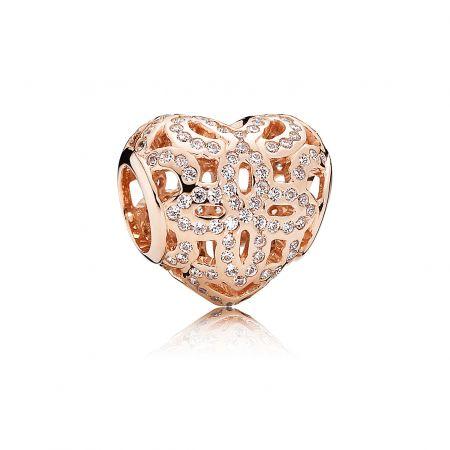PANDORA Rose LOVE鋯石串飾 NT$3,180