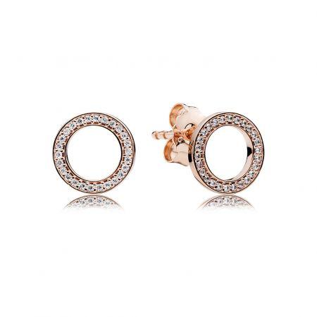 PANDORA Rose永恆經典鋯石耳環 NT$2,680