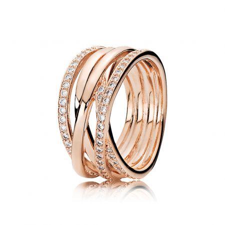 PANDORA Rose閃耀之星鋯石戒指 NT$6,780