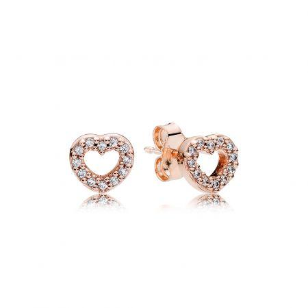 PANDORA Rose愛心耳環NT$2,680