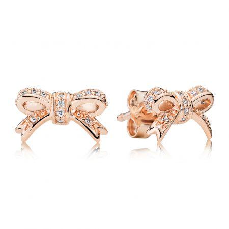 PANDORA Rose蝴蝶結耳環NT$3,180