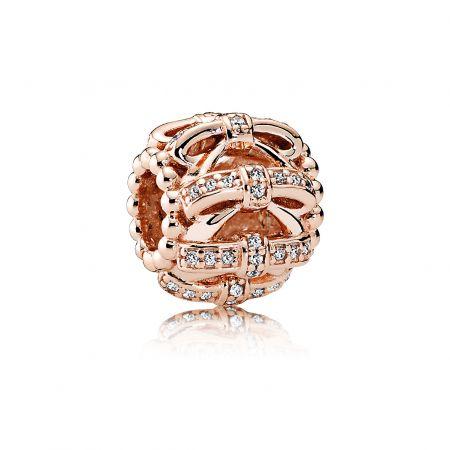 PANDORA Rose蝴蝶結鋯石串飾 NT$3,180
