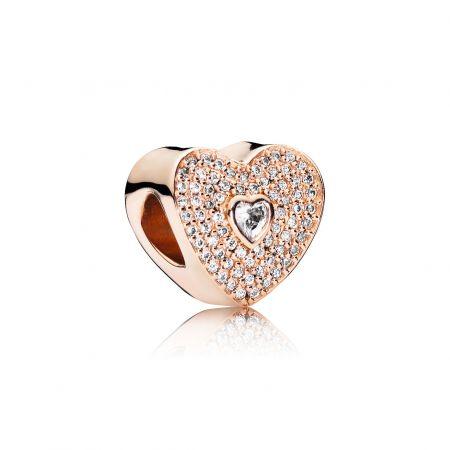 PANDORA Rose愛心鋯石串飾 NT$3,580