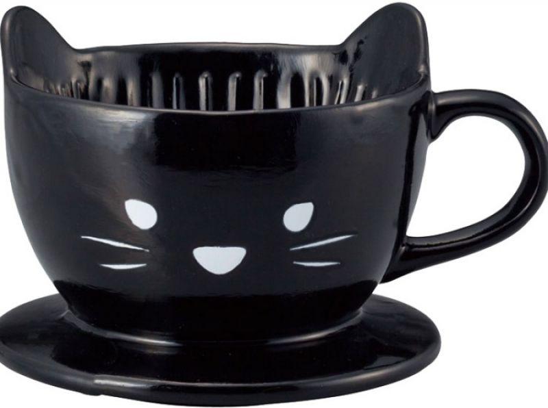 造型咖啡濾器黑貓,NT480元/個