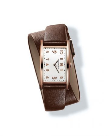 Tiffany East West 白色錶盤玫瑰金錶殼迷你款腕錶 NT$258,000