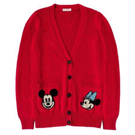 Cath Kidston Mickey & Minnie聯名系列 -針織外套 640763(XS)NT$5,880