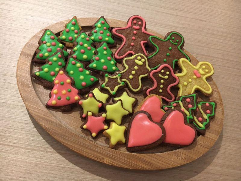 九州鬆餅Kitchen聖誕甜點手作體驗-糖霜餅乾