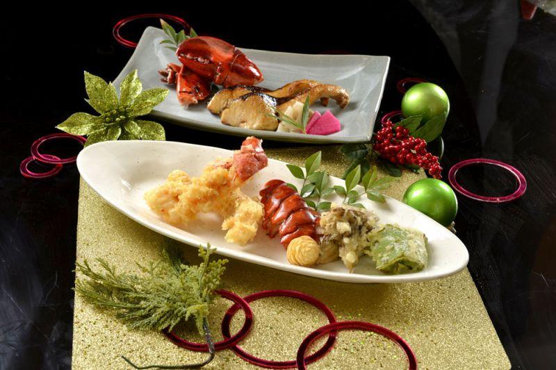 香格里拉台北遠東國際大飯店-IBUKI BY TAKAGI KAZUO聖誕節12/24、25及新年12月31日及1月1日期間 推出「聖誕新年雙人懷石饗宴」NT$6,200+10% /套