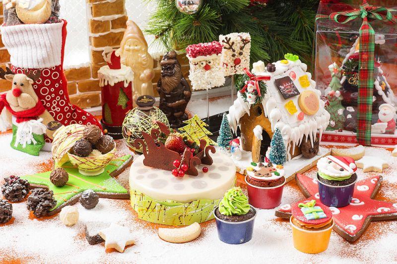香格里拉台北遠東國際大飯店 The Cake Room 聖誕繽紛美點