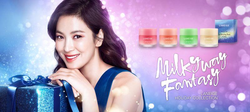 韓國蘭芝Laneige推出睡美人唇膜聖誕限量版。