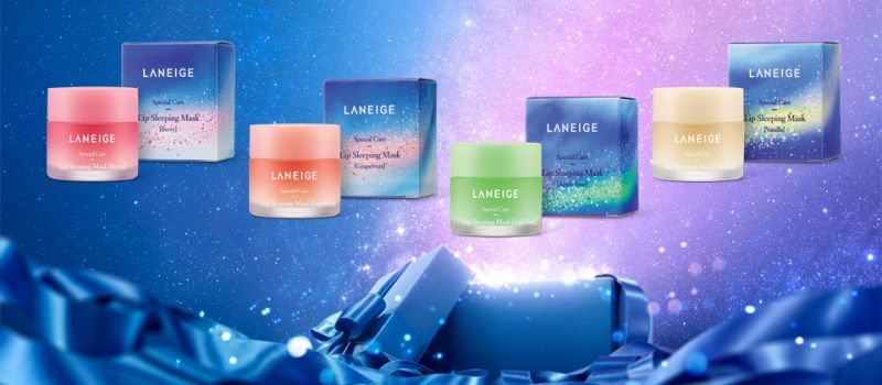 一組四色,包裝呼應2016聖誕限量「銀河夢境」主題。