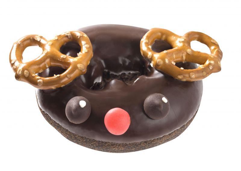 耶誕馴鹿甜甜圈