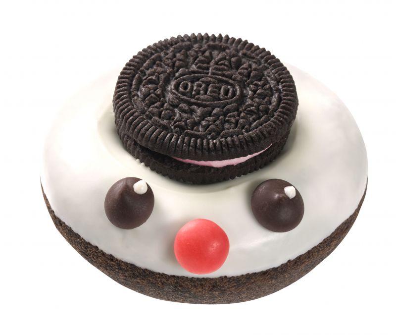 耶誕雪人甜甜圈