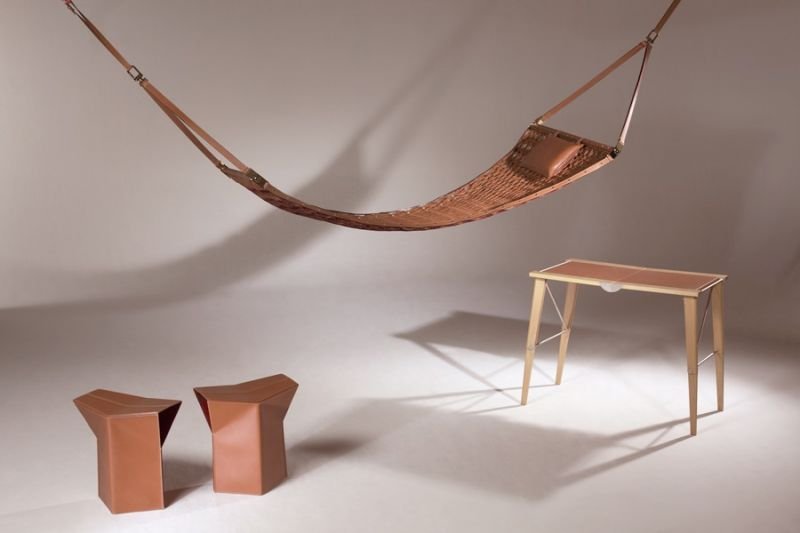 Stool Hammock, Stool by Atelier Oi